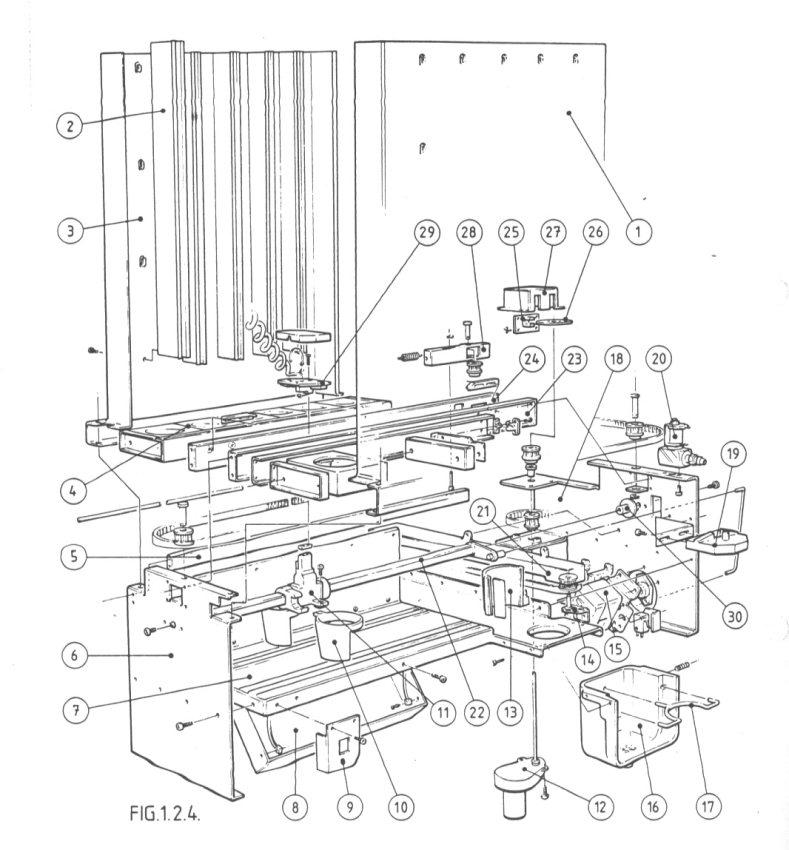 1982: Klix Machine Mechanism
