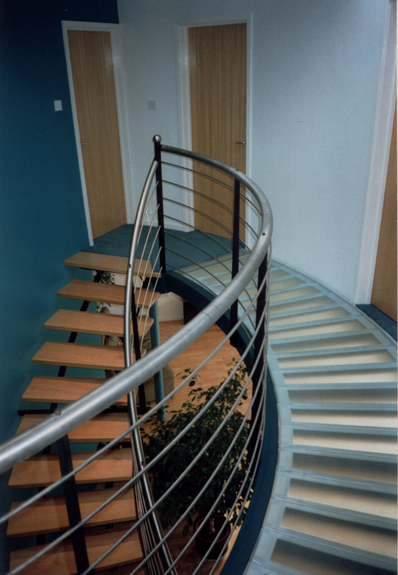 1996: Axis House Stairs