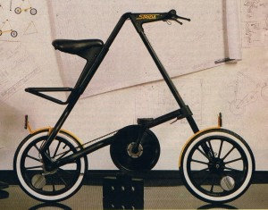 Strida1 Pre-production Prototype in Sunday Times May 1987